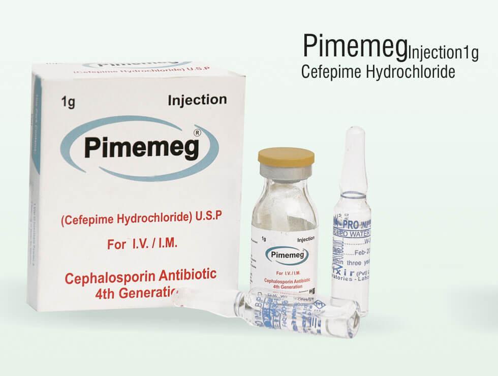 Pimemeg – Cefepime Hydrochloride