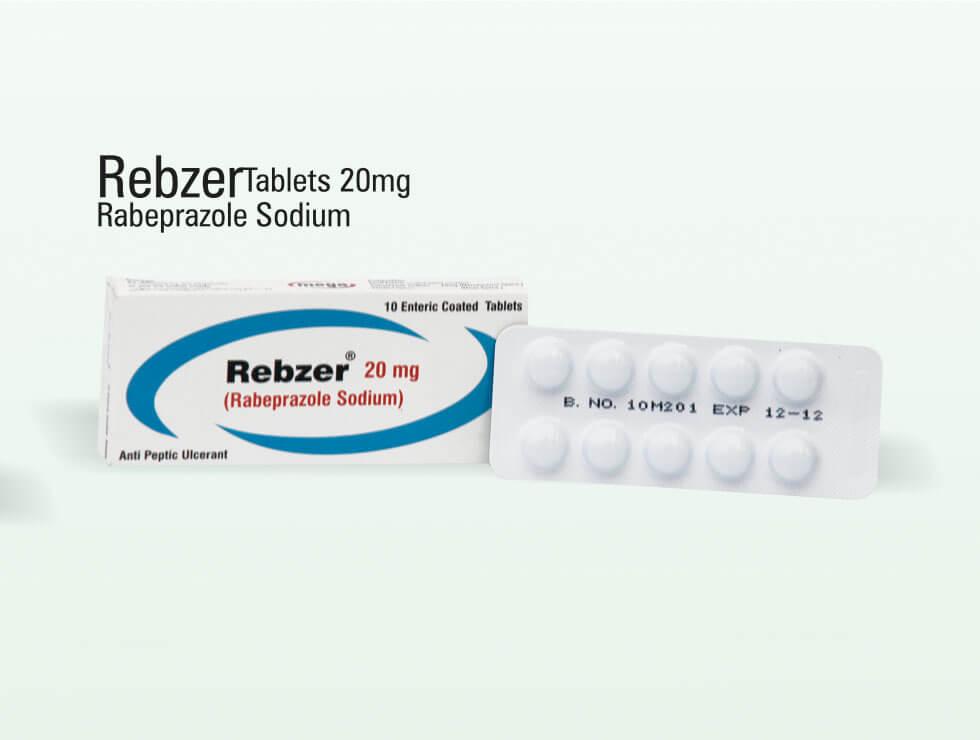 Rebzer – Rabeprazole Sodium