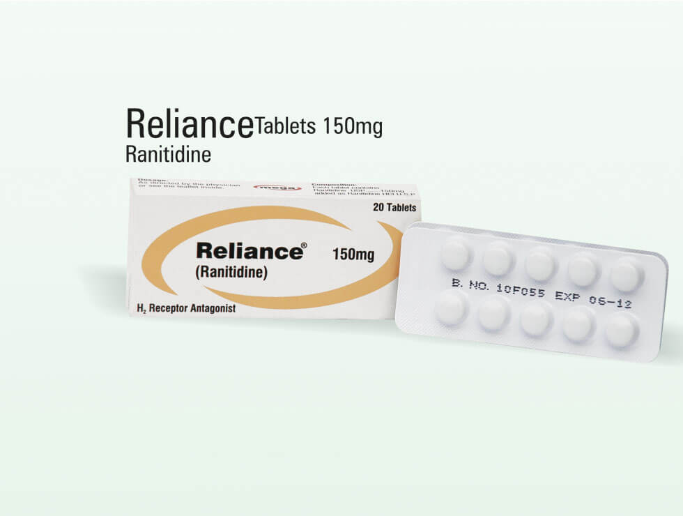 Reliance – Ranitidine