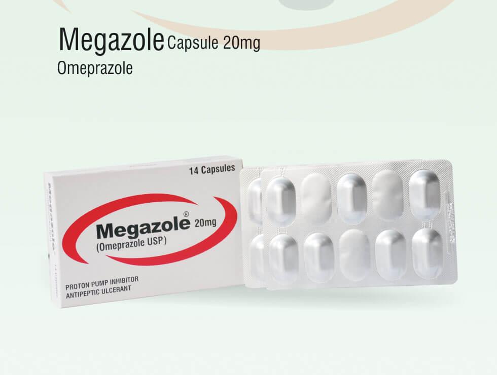 Megazole – Omeprazole