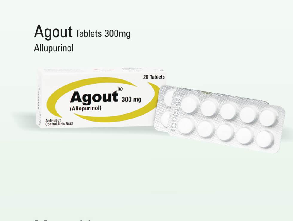 Agout – Allupurinol