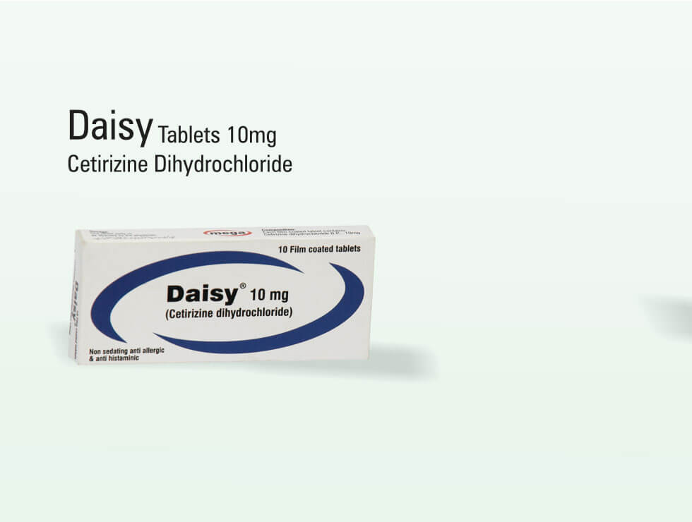 Daisy – Cetirizine Dihydrochloride