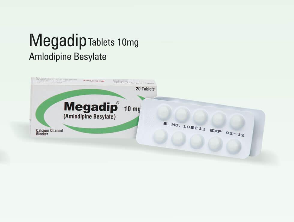 Megadip – Amlodipine Besylate