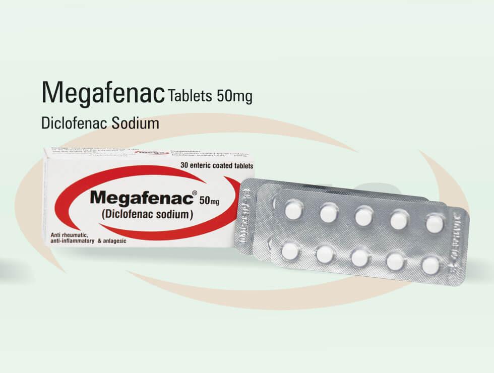 Megafenac – Diclofenac Sodium