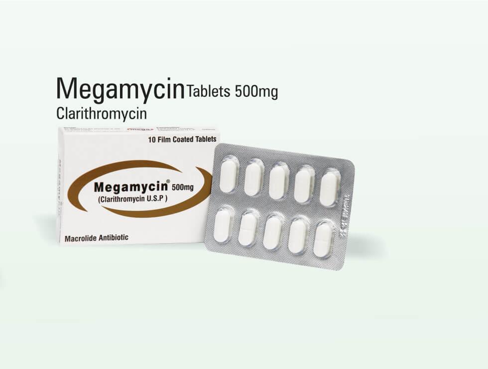Megamycin – Clarithromycin
