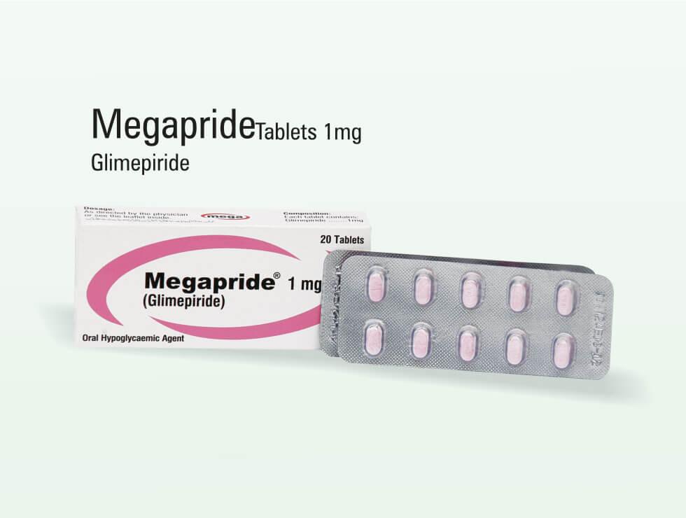 Megapride – Glimepiride