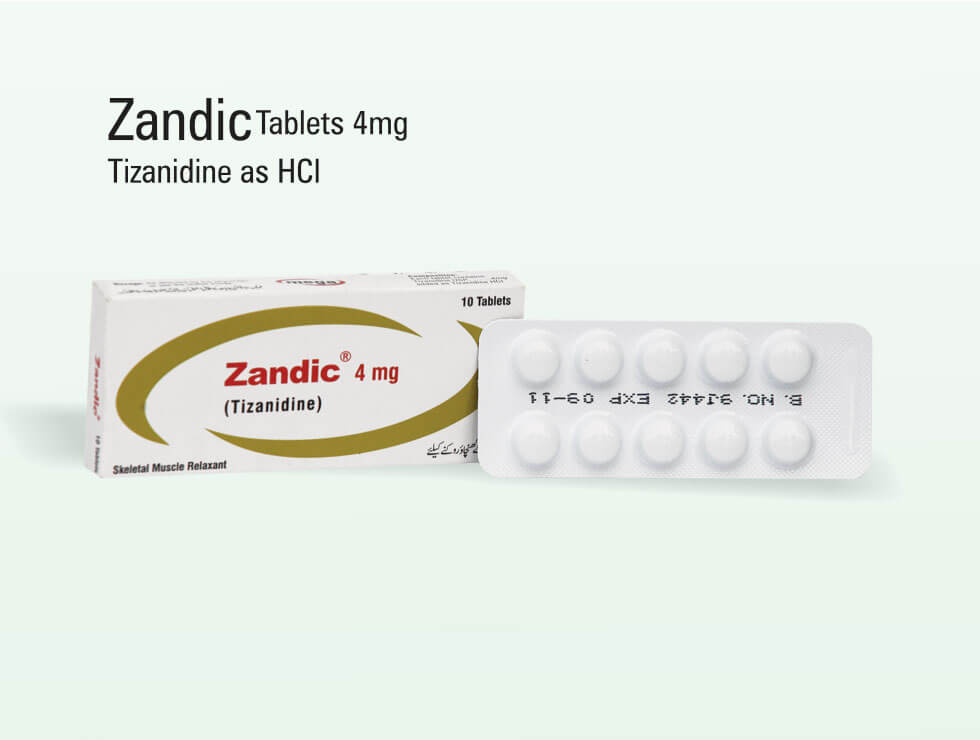 Zandic – Tizanidine As HCl